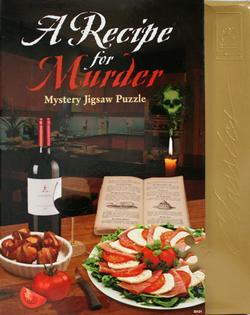 Recipe for Murder Mystery Jigsaw Puzzle