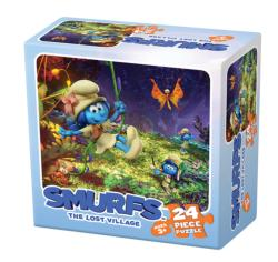 Smurfs: The Lost Village 3 Movies / Books / TV Children's Puzzles