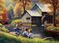 Fishy Story Fall Jigsaw Puzzle
