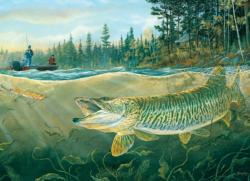 Muskie Bay Lakes / Rivers / Streams Jigsaw Puzzle