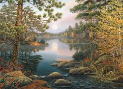 Deer Lake Nature Jigsaw Puzzle