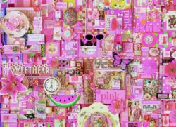 Pink Collage Jigsaw Puzzle