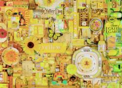 Yellow Collage Jigsaw Puzzle