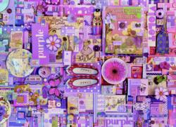 Purple Collage Jigsaw Puzzle