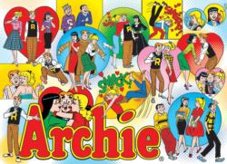 Classic Archie Collage Jigsaw Puzzle