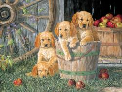 Puppy Pail Everyday Objects Jigsaw Puzzle