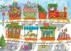 Christmas Train Christmas Family Puzzle