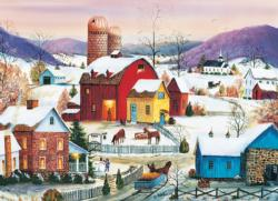 Winter Neighbors Winter Jigsaw Puzzle