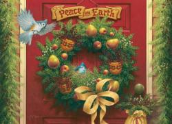 Peace on Earth Christmas Jigsaw Puzzle