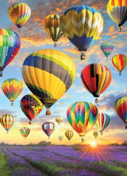 Hot Air Balloons Father's Day Jigsaw Puzzle