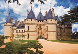 Chateau de Chaumont Europe Jigsaw Puzzle