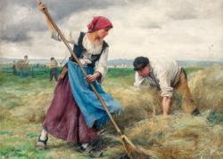 Harvesters (Dupre) People Jigsaw Puzzle