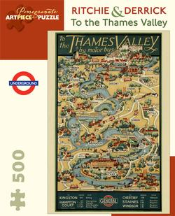 To the Thames Valley Lakes / Rivers / Streams Jigsaw Puzzle