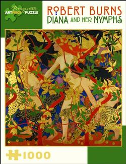 Diana and Her Nymphs Fine Art Jigsaw Puzzle