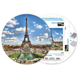 Paris Paris Round Jigsaw Puzzle