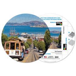 San Francisco San Francisco Round Jigsaw Puzzle