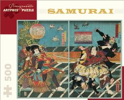 Samurai  Asian Art Jigsaw Puzzle