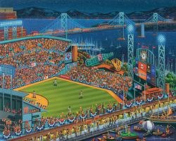 San Francisco Giants Baseball Children's Puzzles