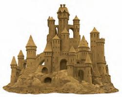Sand Castle Beach Shaped