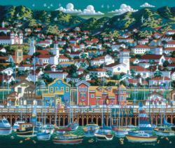 Santa Barbara United States Jigsaw Puzzle