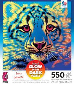 Snow Leopard (Schimmel Glow) Jungle Animals Jigsaw Puzzle
