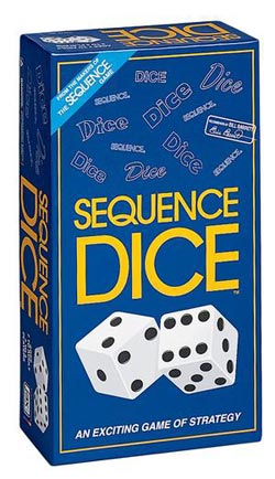 Sequence Dice Game Strategy/Logic Games