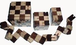 Shapeshifter - 18 Blocks Brain Teaser