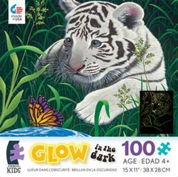 A Touch of Hope (Schimmel Glow) Tigers Jigsaw Puzzle