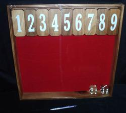 Shut the Box #1-9 (Monster)