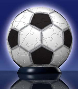 Soccer Sports Puzzleball