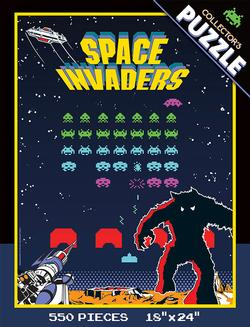 Space Invaders Collector's Puzzle Nostalgic / Retro Collectible Packaging