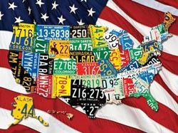 State Plates United States Children's Puzzles