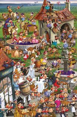 Story of Wine Food and Drink Jigsaw Puzzle
