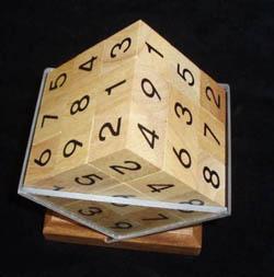 Sudoku Cube Puzzle Brain Teaser