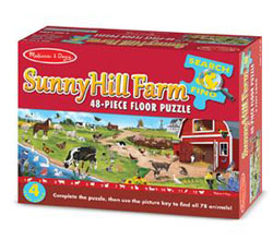 Search & Find Sunny Hill Farm - Floor Farm Children's Puzzles