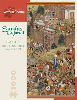 Babur Setting Out from Kabul Fine Art Panoramic Puzzle