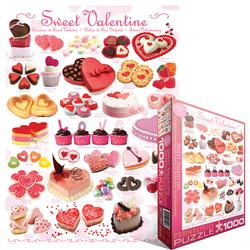 Sweet Valentine Pattern / Assortment Jigsaw Puzzle