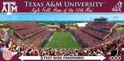 Texas A&M University Football Panoramic Puzzle