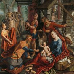 The Adoration of the Magi by Pieter Aertsen Fine Art