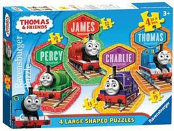 4 Friends (Thomas & Friends) Trains Children's Puzzles