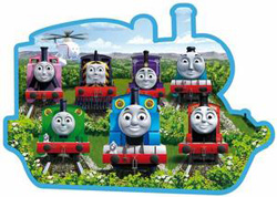 Sodor Friends (Thomas & Friends) Thomas and Friends Shaped
