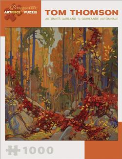 Autumn's Garland Forest Jigsaw Puzzle