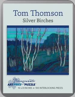 Silver Birches (Mini Tin) Nature Miniature