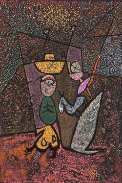 Traveling Circus by Paul Klee People
