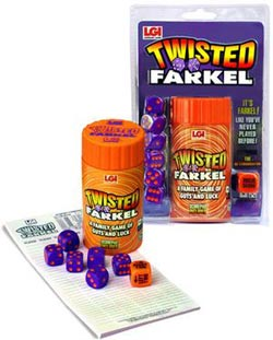 Twisted Farkel Pi Day