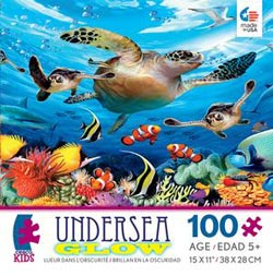 Journey of the Sea Turtles (Undersea) Marine Life Children's Puzzles