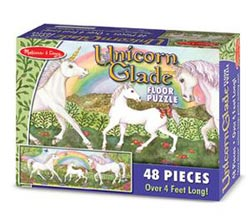 Unicorn Glade - Floor Unicorns Children's Puzzles