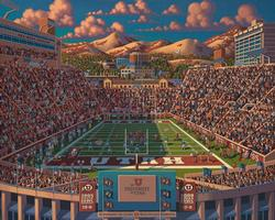 Utah Football Sports Jigsaw Puzzle