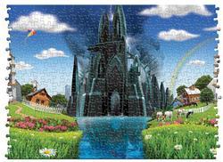 Utopia Dystopia Fantasy Jigsaw Puzzle