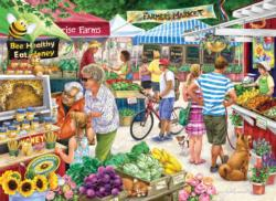 Farmer's Market Food and Drink Jigsaw Puzzle
